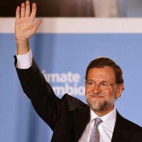 MARIANO RAJOY GANA LAS ELECCIONES EN ESPAÑA EL 20 DE NOVIEMBRE DE 2011.- UNA MAYORIA HISTÓRICA PARA EL PP