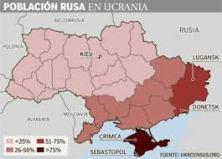 POBLACION RUSA EN UCRANIA