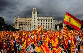 EL PUEBLO CATALÁN - 12 DE OCTUBRE - BARCELONA- ESPAÑA QUIEREN SER CATALANES, ESPAÑOLES Y CIUDADANOS EUROPEOS (CECU)