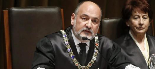 Presidente del Tribunal Constitucional Dr. Francisco Perez de los Cobos
