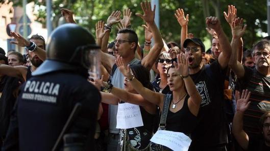la junta de artur mas en manos de la desobediencia civil