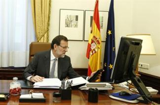 PRESIDENTE MARIANO RAJOY ESPAÑA 27 DE OCTUBRE 2014