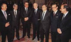 SANCIÓN DE LA CONSTITUCIÓN ESPAÑOLA 1978.- LOS PADRES DE LA CONSTITUCIÓN.-
