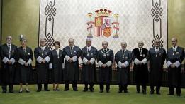 TRIBUNAL CONSTITUCIONAL ESPAÑA.- CONFORMACIÓN 2014.-
