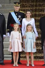 FAMILIA REAL DE ESPAÑA.-
