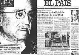 Los terroristas del GRAPO secuestran al presidente del Consejo de Estado y destacado franquista, D. Antonio María de Oriol Urquijo