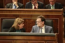 Presidente MARIANO RAJOY y Vicepresidente SORAYA SAENZ DE SANTAMARÍA