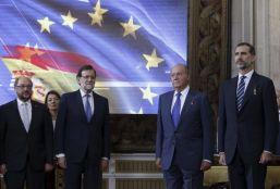 Felipe VI llama a la unidad y el consenso para tener éxito en España y en la ue