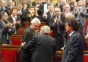 Pujol felicita a Maragall en presencia de Artur Mas y Carod Rovira. http://www.elmundo.es/elmundo/2006/05/10/espana/1147286013.html