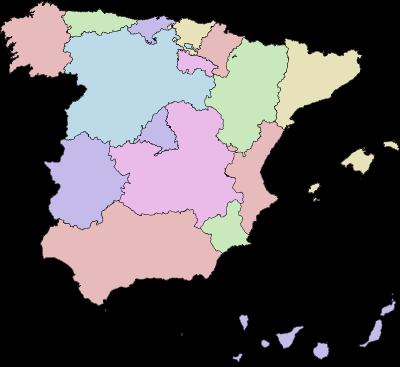 COMUNIDADES AUTONOMAS DE ESPAÑA- TITULO VIII DE LA CONSTITUCIÓN DE ESPAÑA (1978)