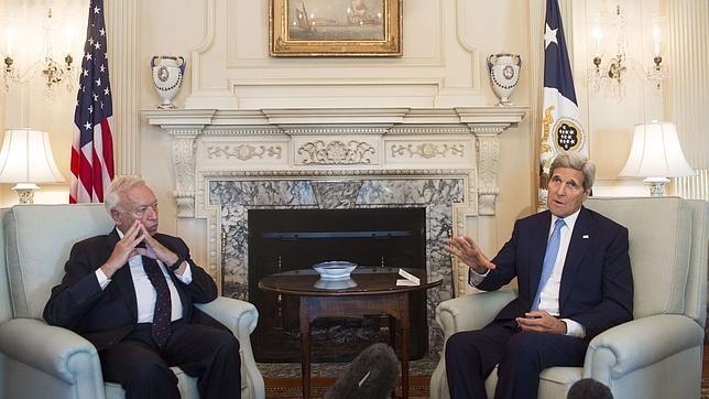José Manuel García Margallo y John Kerry