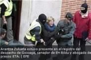 DETENCION DE ABOGAOS Y CONTABLES DE BILDU POR LAVADO DE DINERO Y OTROS