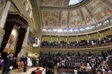 EL REY EN EL CONGRESO Sesión solemne de proclamación de Felipe VI por las Cortes Generales, reunidas hoy en el Palacio de la Cámara Baja para este acontecimiento.
