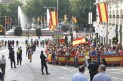 PROCLAMACION DE FELIPE VI EN LAS CORTES RECORRIENDO SUS CALLES