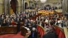 El Constitucional anula la resolución independentista del Parlamento catalán
