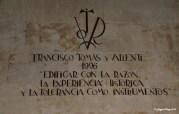 VITOR DEL DR. D FRANCISCO TOMAS Y VALIENTE OBRANTE EN EL EDIFICIO HISTÓRICO DE LA UNIVERSIDAD DE SALAMANCA