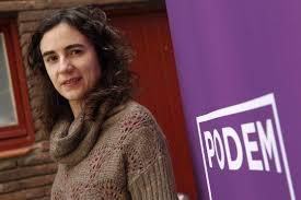 28S Dimisión de la secretaria general de Podemos en Cataluña Gemma Ubasart,