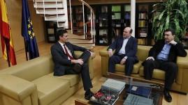 """REUNIÓN PEDRO SANCHEZ - PSOE Y AITOR ESTEBAN -PNV PARA ELECCIONES """"20D"""" 2016"""