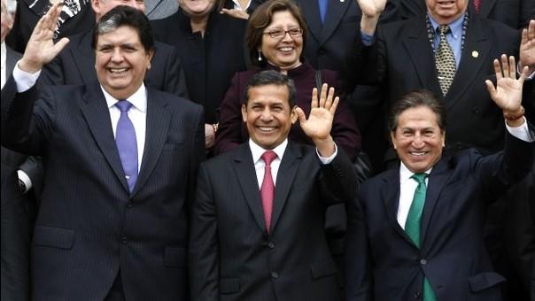 Alan García, Ollanta Humala y Alejandro Toledo han sido vinculados con el caso.