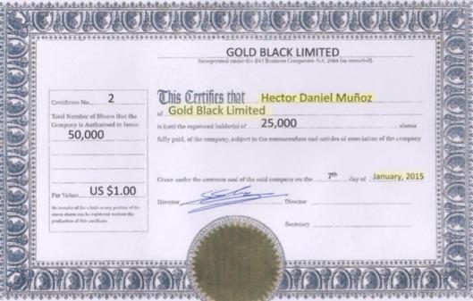 GOLD BLACK LIMITED