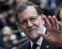 RAJOY EN LA SEGUNDA JORNADA DE LA CUMBRE EUROPEA EN BRUSELAS