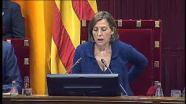 """Las Conclusiones adoptadas por la COMISIÓN DE ESTUDIO DEL PROCESO CONSTITUYENTE"""" y que fueran aprobadas en el orden del dia del Pleno, forzándose una modificación del mismo, """"contemplan «mecanismos unilaterales», que la CUP reduce a un referéndum unilateral, para activar la «desconexión» de Cataluña con España». Las conclusiones que avalan la vía unilateral a la independencia, se aprobaron con el voto de, los 72 a favor de JxSí y la CUP y los 11 en contra de Catalunya Sí que es Pot (CSQP). Es decir, en el emiciclo, existieron 83 votos.- El Tribunal explica que «ha conocido las conclusiones aprobadas por la Comisión» y que «constata que su contenido contraviene claramente los mandatos a que se viene haciendo referencia». Se trata de «una apreciación» del TC que los cargos y autoridades «deben tener en cuenta» a la hora de actuar. http://www.elmundo.es/espana/2016/07/19/578e62f0e5fdea0e798b4578.html"""
