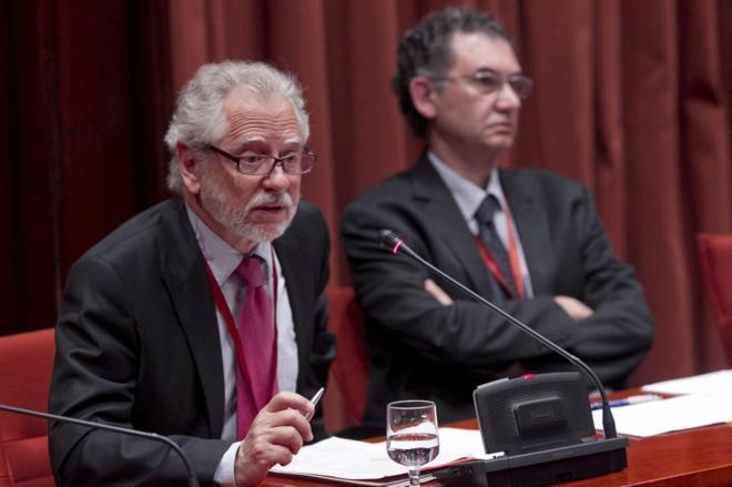 Carles Viver Pi-Sunyer, ex vicepresidente del TC. JORDI SOTERAS