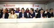 PEDRO SANCHEZ Y LA EJECUTIVA DEL PSOE.- RATIFICA SU NO A MARIANO RAJOY.-
