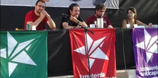 """PABLO IGLESIAS - """"PODEMOS""""; Y MIGUEL URBÁN """"ANTICAPITALISTAS- MADRID"""""""