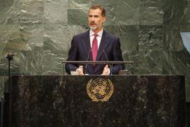 Palabras de Su Majestad el Rey en la LXXI Asamblea General de las Naciones Unidas Nueva York, 20.09.2016http://www.casareal.es/ES/Actividades/Paginas/actividades_discursos_detalle.aspx?data=5600