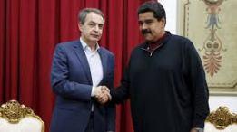 JOSE LUIS RODRIGUEZ ZAPATERO Y EL PRESIDENTE DE VENEZUELA, MADURO 2016