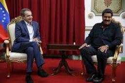 JOSE LUIS RODRIGUEZ ZAPATERO Y MADURO EN VENEZUELA 2016