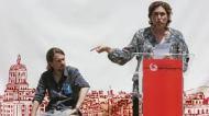 PABLO IGLESIAS Y ADA COLAU EN CAMPAÑA 2015