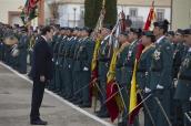 El presidente del Gobierno, Mariano Rajoy, pasa revista a la formación en la Academia de Guardias y Suboficiales de Guardia Civil en Baeza, Jaén. Baeza (Jaén) - 17/12/2016http://www.lamoncloa.gob.es/multimedia/galeriasfotograficas/presidente/Paginas/2016/171216baeza.aspx