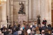 © Casa de S.M. el Rey La actriz Concha Velasco, durante la intervención de apertura Palacio Real de Madrid, 30.01.2017http://www.casareal.es/ES/Actividades/Paginas/actividades_actividades_detalle.aspx?data=13044