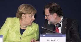 El presidente del Gobierno español, Mariano Rajoy (d), y la canciller alemana, Angela Merkel (i), durante el Congreso del Partido Popular Europeo (PPE) que se celebra en La Valeta (Malta). Efe Leer más: Rajoy: «Ningún partido populista ha traído beneficio cuando llegó al poder» http://www.larazon.es/espana/rajoy-jamas-un-partido-populista-ha-traido-ningun-beneficio-cuando-llego-al-poder-IP14824963?sky=Sky-Marzo-2017#Ttt1UJpTlIjKt8wI