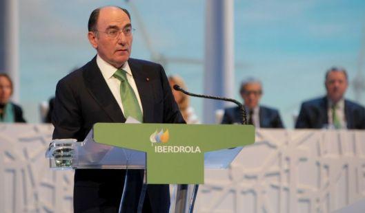 Ignacio Galán, presidente de Iberdrola, durante la junta de accionistas. FERNANDO DOMINGO-ALDAMA