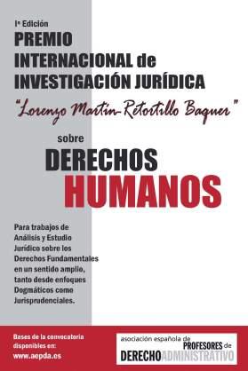 RETORTILLO BAQUER PREMIO INVESTIGACION JURIDICA SOBRE DERECHOS HUMANOS