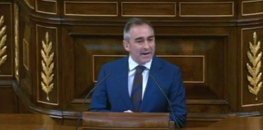 DIPUTADO DEL PP Y portavoz de PP en ese debate, Miguel Barrachina