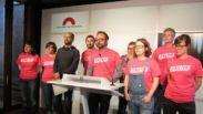 Los diputados de la CUP en el Parlament de Cataluña.https://clementepolo.wordpress.com/tag/pacto-nacional-por-el-referendum/