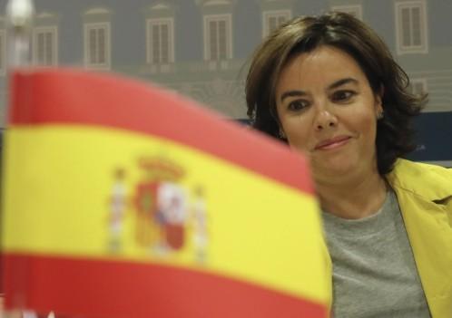 SORAYA SSENZ DE SANTAMARIA ADVERTENCIA A PUIGDEMONT