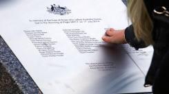AUSTRALIA MH17 EN EL PARLAMENTO