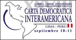CARTA DEMOCRATICA DE LIMA