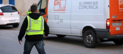 GUARDIA CIVIL EMPRESA DE MENSAJERIA PRIVADA