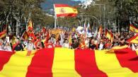 Imagen de la manifestación de este sábado en Barcelona a favor de la unidad de España. Jaime Villanueva / quality (REUTERS-atlas)