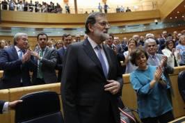 """Mariano Rajoy: """"La historia no va a juzgar solo lo que ocurre en Cataluña, juzgará la respuesta"""",,http://www.alertadigital.com/2017/10/27/mariano-rajoy-defiende-la-aplicacion-del-155-de-la-constitucion-en-cataluna-porque-no-hay-alternativa/,..... """"Y LOS RESULTADOS, DON MARIANO, LOS RESULTADOS, NO LO OLVIDE ES ESENCIAL Y CONFIO EN USTED Y SU EQUIPO PARA QUE LOGREMOS QUE ESTE ARMA LEGAL ESENCIAL QUE ES EL ART. 155 CE, EN SU PRIMER APLICACIÓN, OBTENGA TODOS Y CADA UNO DE LOS RESULTADOS POSITIVOS QUE NECESITAMOS PRA REESTABLECER LA LEGALIDAD EN CATALUÑA Y RESGUARDAR ASI LA SOBERANIA Y LA UNIDAD DE NUESTRA ESPAÑA ÚNICA Y PLURAL Y QUE SE CONSTITUYA ASI, UN ANTECEDENTE ÚNICO CONSTITUCIONAL PARA NUESTRA ESPAÑA PARA NUESTRA UE, PARA NUESTRA IBEROAMERICA Y PARA TODO EL MUNDO DE BIEN-- FUERZA, ! Y TODO LO MEJOR!..-"""