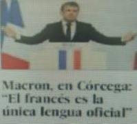 IMAGENES DE MACRON DE VISITA EN LA ISLA DE CÓRCEGA.- www.google.es