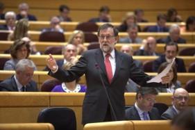 DEBATE APROBACIÓN ARTICULO 155 CE EN LA CÁMARA DE SENADORES. PRESIDENTE MARIANO RAJOY http://www.rtve.es/alacarta/videos/especiales-informativos/senado/4274318/
