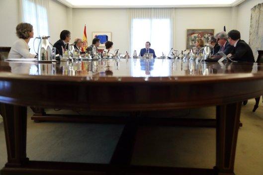 RAJOY Y CONSEJO DE MINISTROS