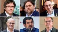 Carles Puigdemont y los cinco diputados catalanes en prisión; Oriol Junqueras, Josep Rull, Raül Romeva, Jordi Sànchez y Jordi Turull. EFE/ARCHIVO Carles Puigdemont y los cinco diputados catalanes en prisión; Oriol Junqueras, Josep Rull, Raül Romeva, Jordi Sànchez y Jordi Turull. EFE/ARCHIVO https://www.larazon.es/espana/el-supremo-confirma-la-suspension-de-los-diputados-presos-y-de-puigdemont-JD19290090